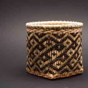 White Oak Basket: Man-in-a-Coffin Pattern