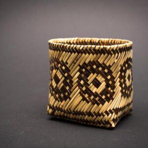 O Doubleweave Rivercane Basket