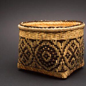 X&O Single Weave Rivercane Basket