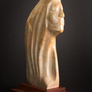 Hard Headed Lady – Soapstone Carving